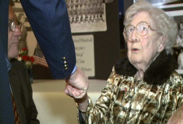 97-year-old McClain says it's an honor to serve as Grand Marshal.