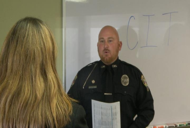 Officer Brian Hooley talks with WGEM's Kaylee Pfeiferling about CIT Training and what it means for the community.