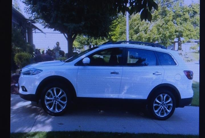 Beebe's 2013 Mazda CX9 was also stolen.