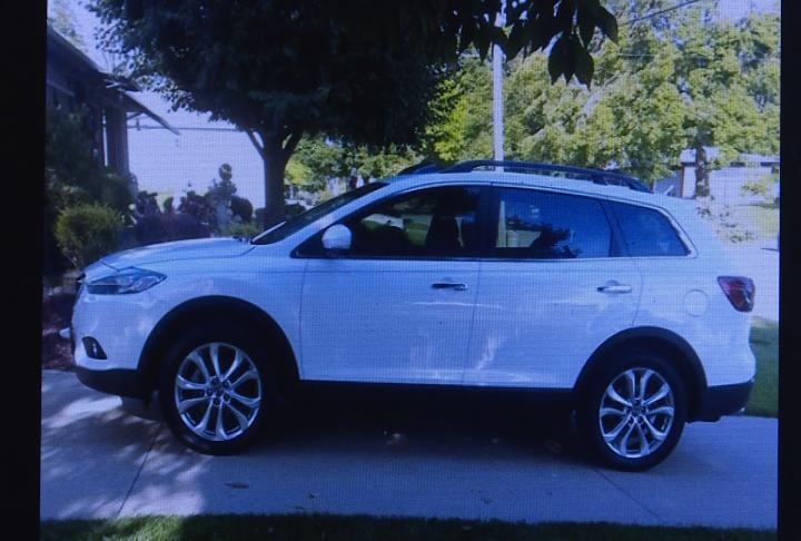 Beebe's 2013 Mazda CX9 was also stolen.