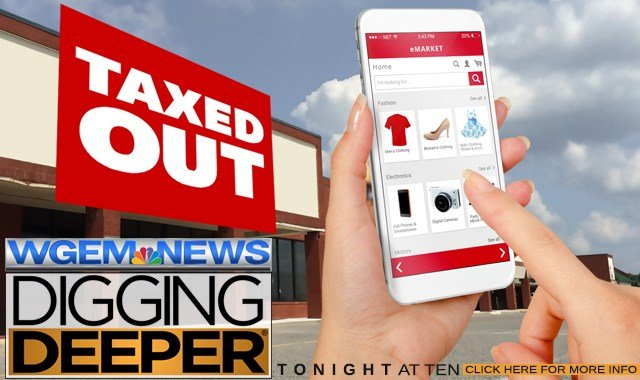 'Taxed Out' tonight on WGEM News at Ten