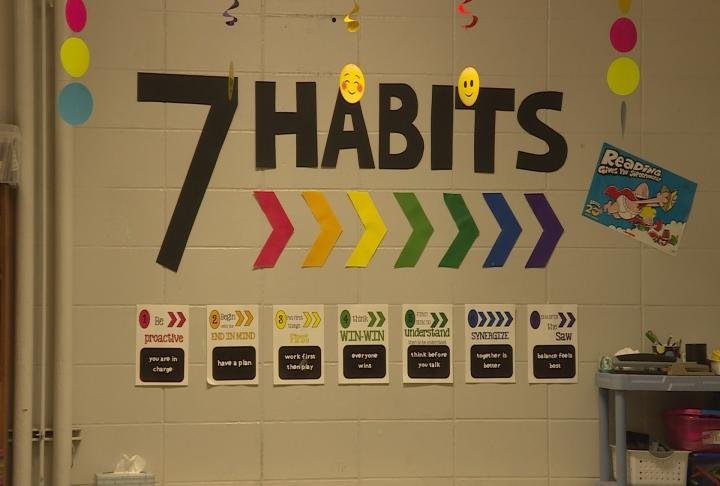 Students have also been learning Covey's 7 Habits.