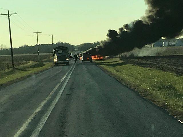 The crash happened around 4:30 p.m.