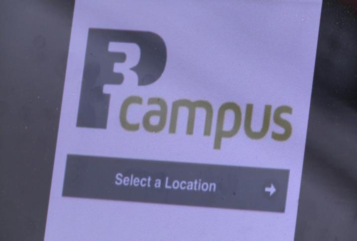 Look at P3 Campus app.