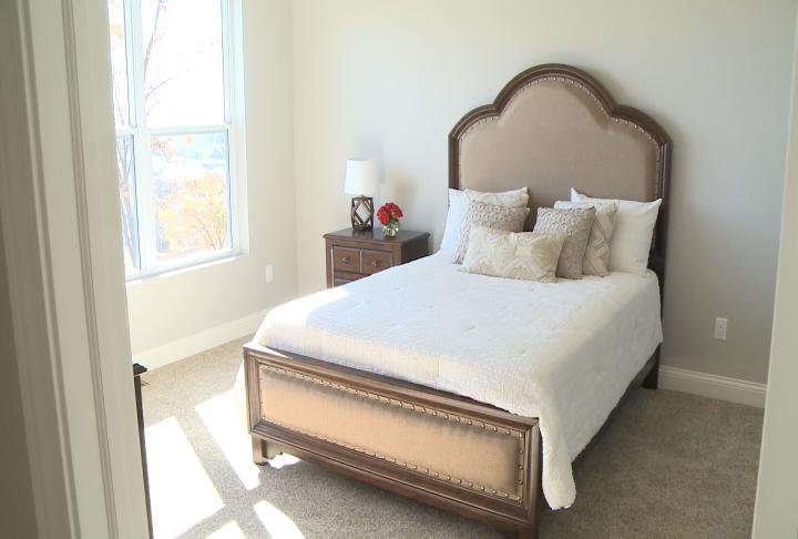 Look at the bedroom.