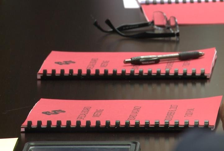 Hannibal School Board meets to fill the vacant spot on committee.