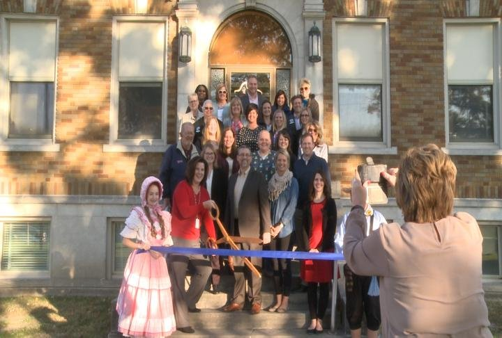 Hannibal Public Schools and Clarity Healthcare held a ribbon cutting ceremony for the PATCH Center on Wednesday afternoon.