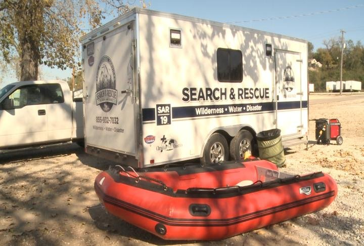The Quincy Volunteer Emergency Corps is working with Christian Aid Ministries and using both of their sonars.