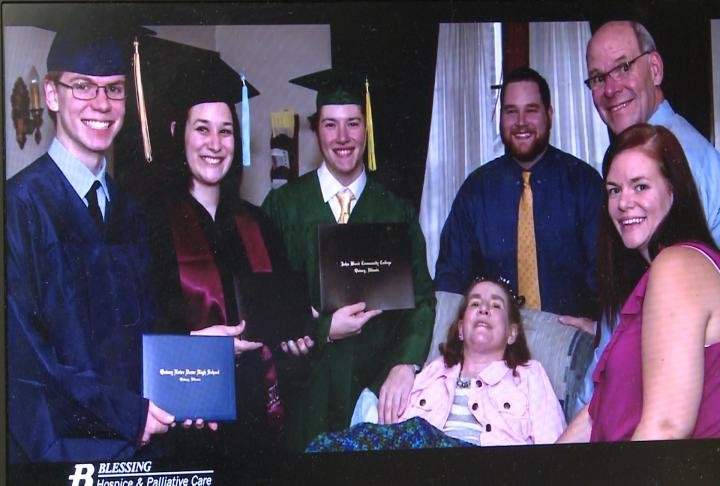 Quincy resident Karen Wiewel received hospice care until she passed away in January 2015.