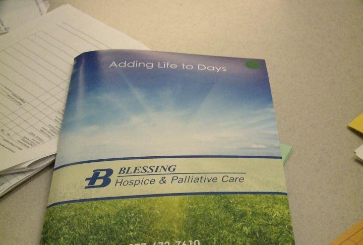Blessing Hospice provides care throughout West Central Illinois.