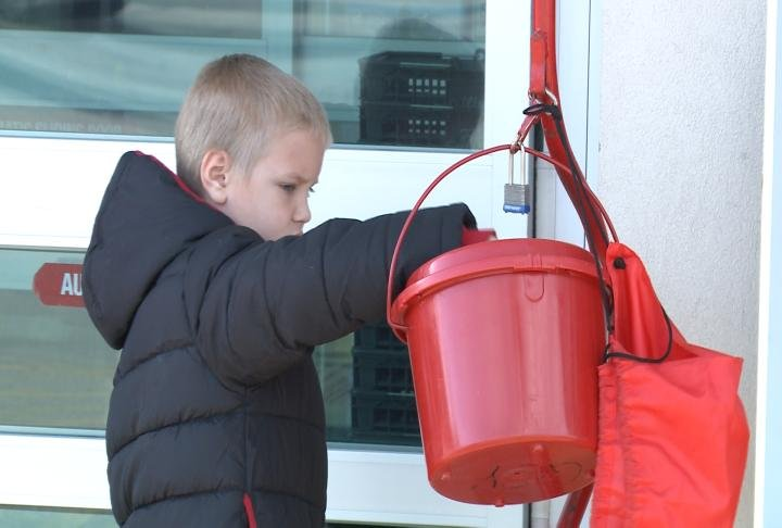 The Salvation Army said all the donations will remain local.