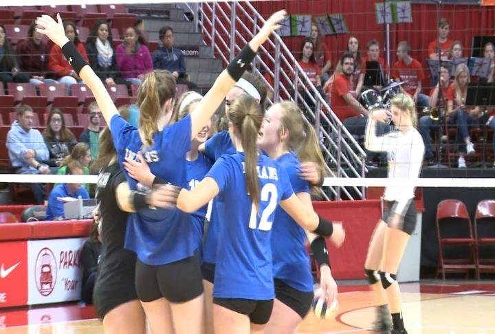 Payson took down Newark in straight sets to advance to the Class 1A state title match.