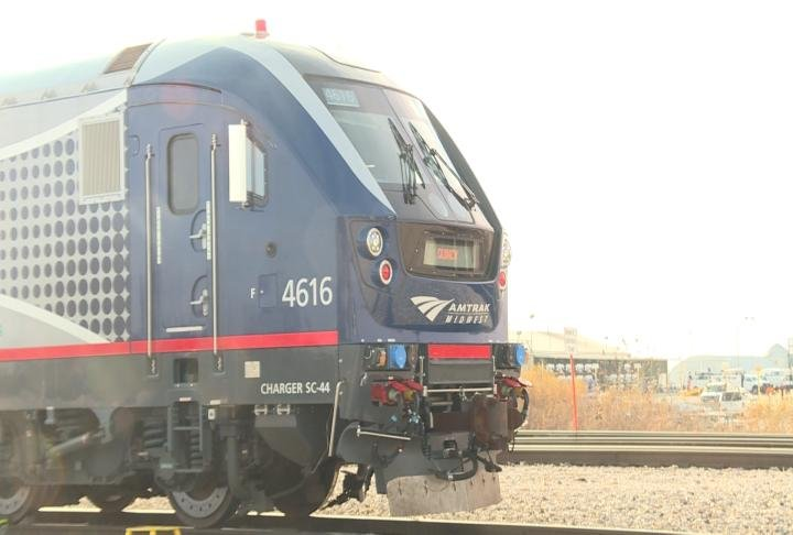Front of the Charger locomotive.
