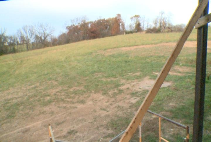 This is the 50 acres of property off Westover Road that will be turned into a subdivision.
