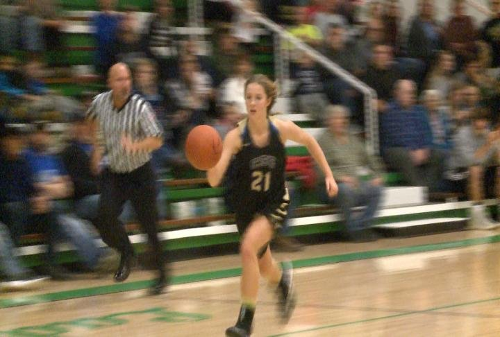 Laney Lantz had an opening night 37 points in C-SE's win at Brown County.
