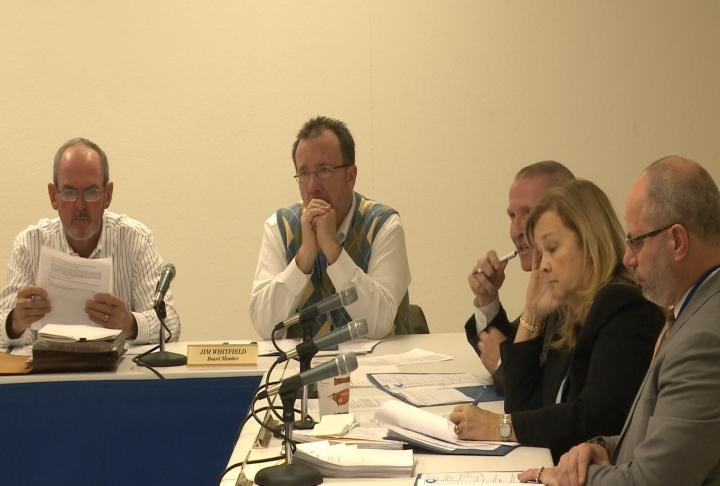The board discussed school based healthcare on Tuesday.