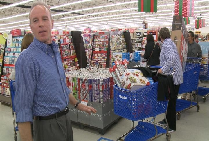 Shopko managers direct customers to open checkout lanes.
