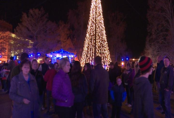 Dozens of families came to downtown Quincy to check it all out.