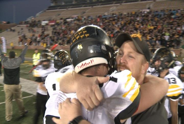 The celebration continues for Monroe City following Saturday's Class 1 state championship victory.