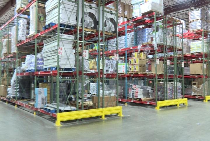 The warehouse at Farm and Home Supply in Quincy