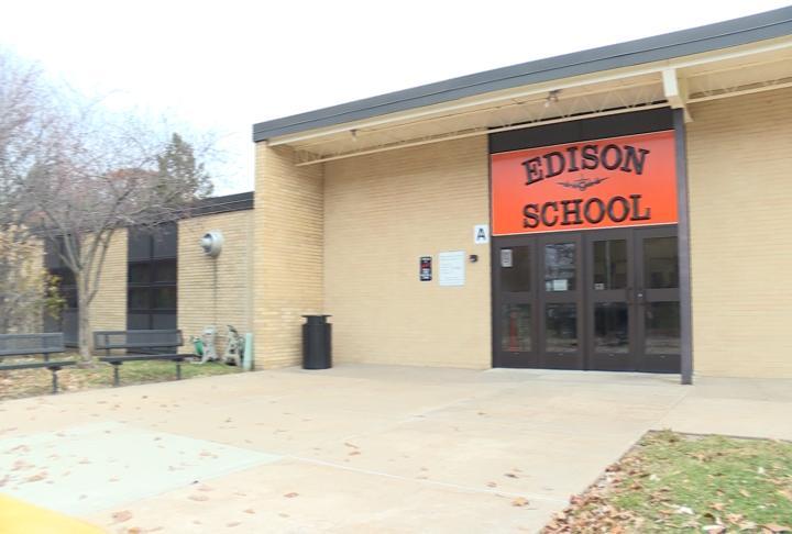 Edison Elementary School in Macomb