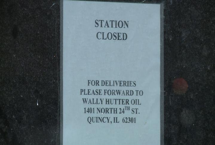 The sale of the building is still pending.