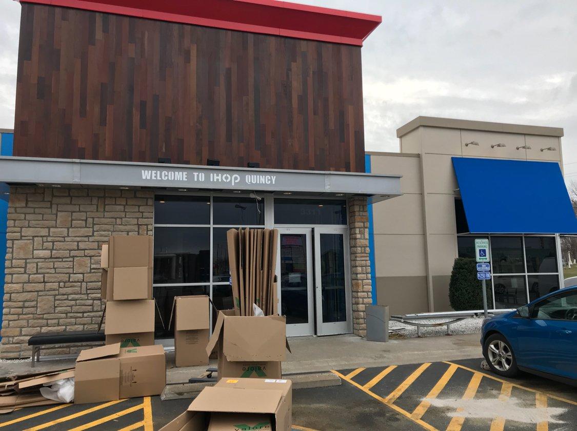 The new IHOP in Quincy