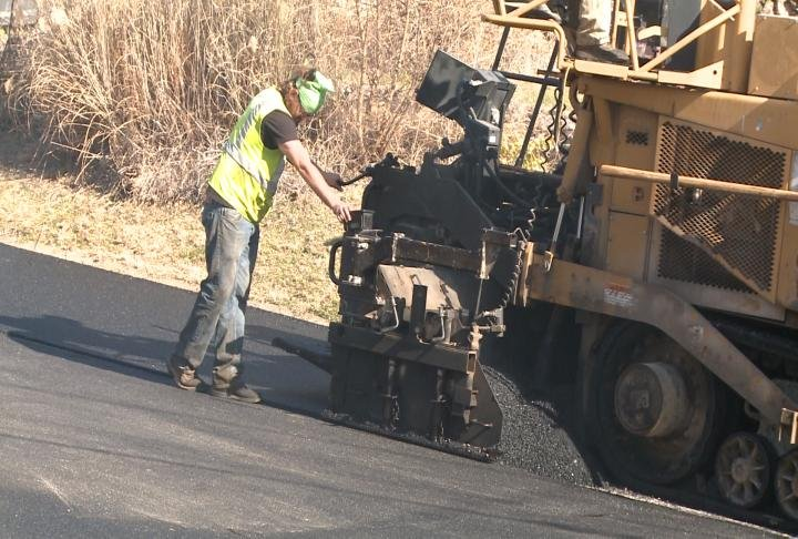 Road construction is still being done in Hannibal due to warmer weather.