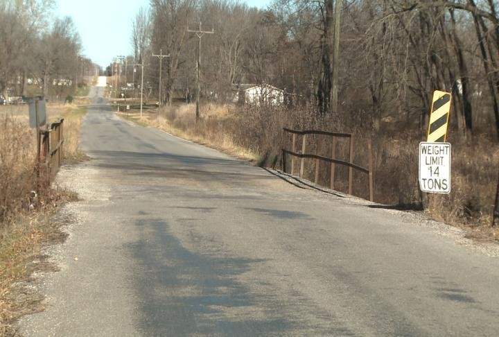 A bridge in Marion County will be rebuilt at the start of the year.