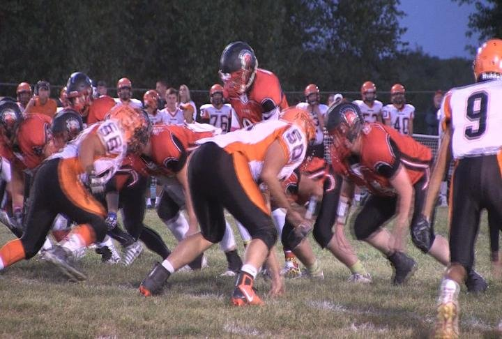 Macomb and West Hancock, seen here during a regular season meeting this past season, have been rejected entry into the Prairieland Conference.