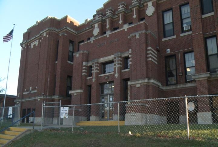 Dewey School is one of the buildings to be auctioned off in 2018.