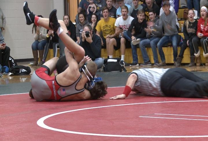Harlan Steffensmeier and Fort Madison won a dual over Quincy High 45-34.