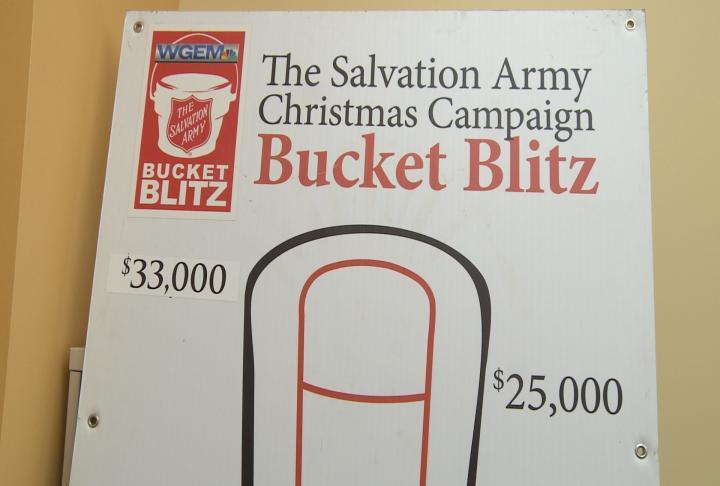 Bucket Blitz fundraising goal