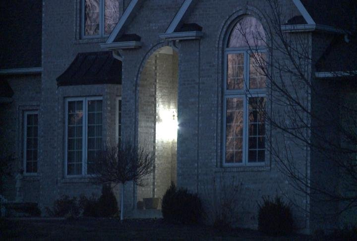 Suspects hit homes on Lancaster Lane early Friday morning.