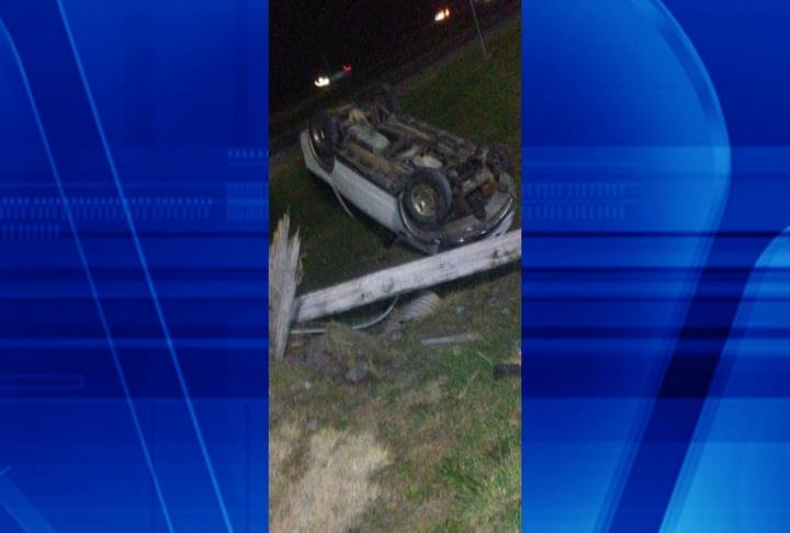 Close up of the rollover. (Photo by: Brandon Hawk)