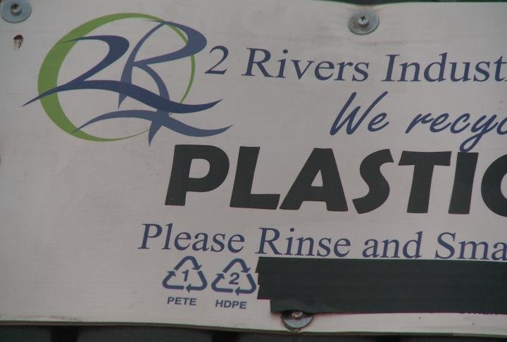 2 Rivers Industries will no longer accept #3, #4, #5, #6, #7 plastics for recycling.