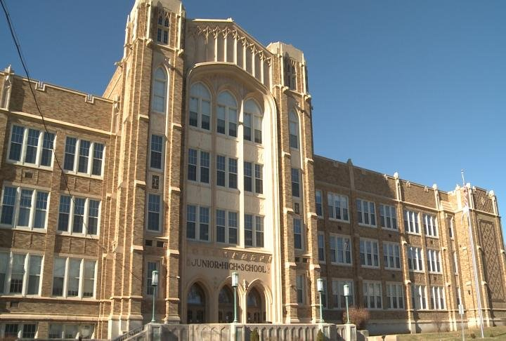 Quincy Junior High School had various projects mentioned in the survey.