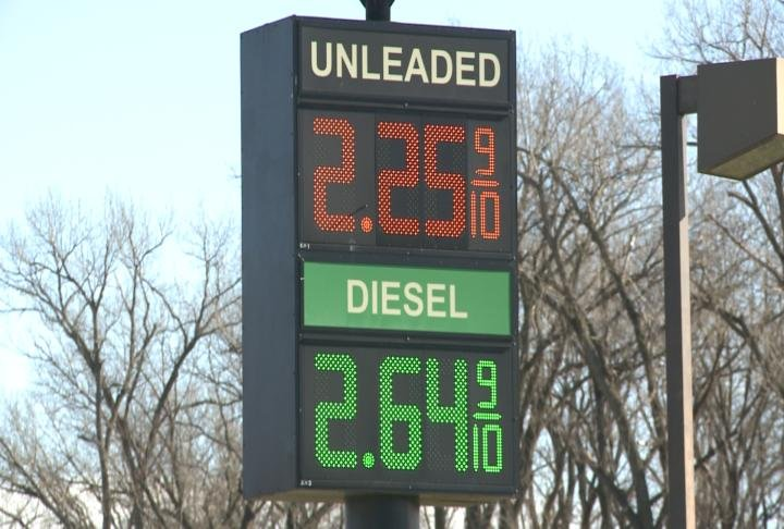 Gas prices are expected to rise into the new year.