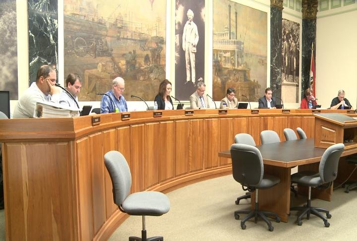 Hannibal City Council meets to discuss various issues on the agenda.