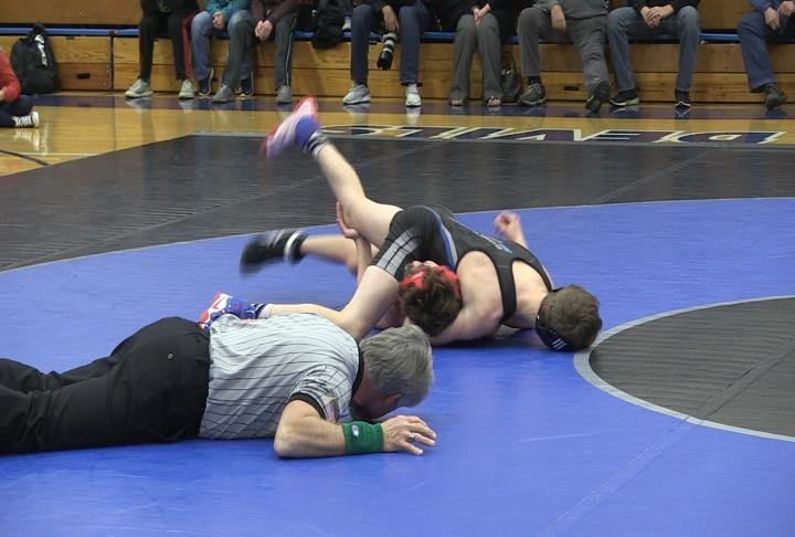 QHS defeated Hannibal in the Border Brawl at Quincy High School.