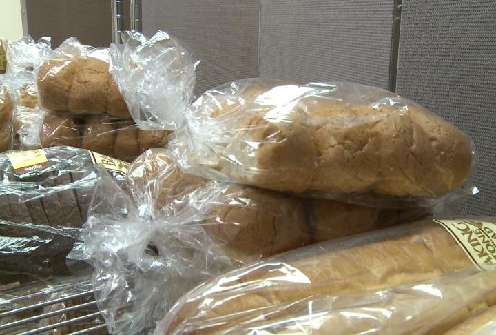 Bread at the Salvation Army breadline