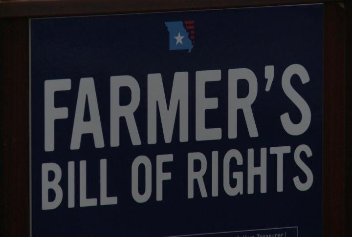 The Farmer's Bill of Rights is made up of three core values designed to take on monopolies and protect the rights of Missouri farmers.