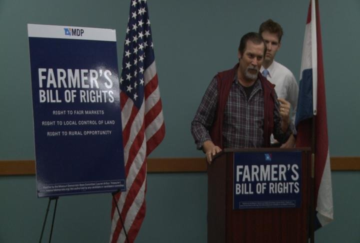 Missouri Farmer Wes Shoemyer says he supports Farmer's Bill of Rights.