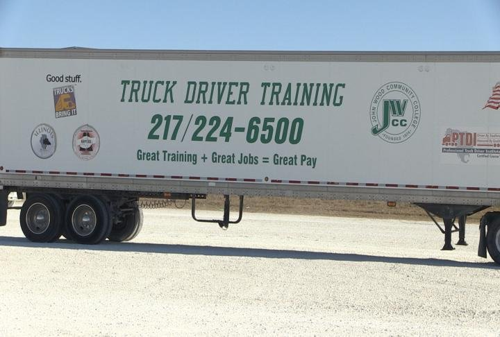 John Wood Community College offers a Truck Driver Program year-round.