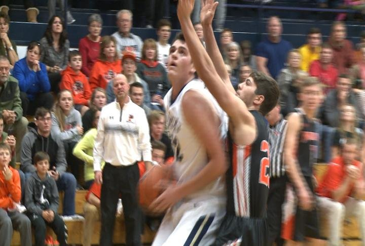 Jase Wallingford had a career high 19 points to lead QND past Palmyra.
