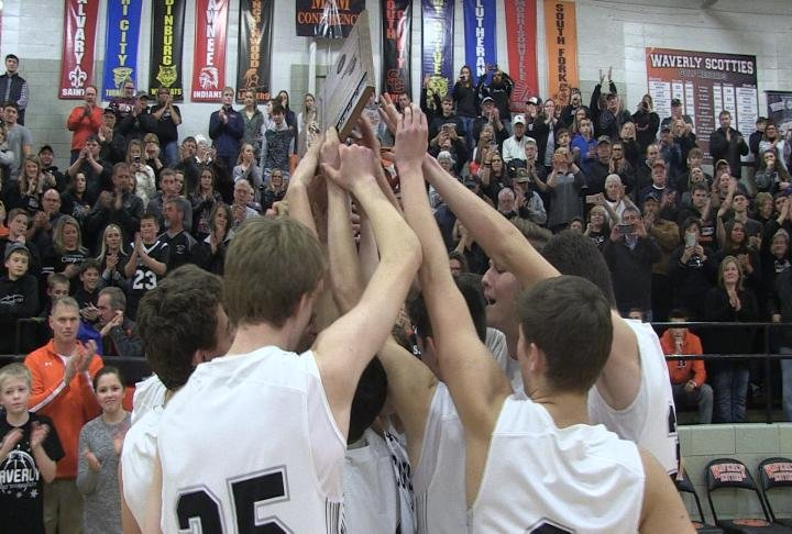 West Central edges Athens to win the Waverly Tournament championship and remain undefeated.
