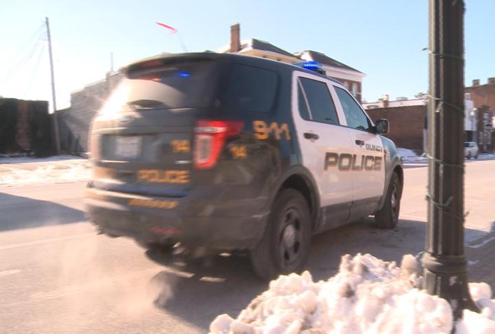 Quincy Police car