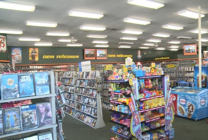 Movies in Family Video in Quincy.