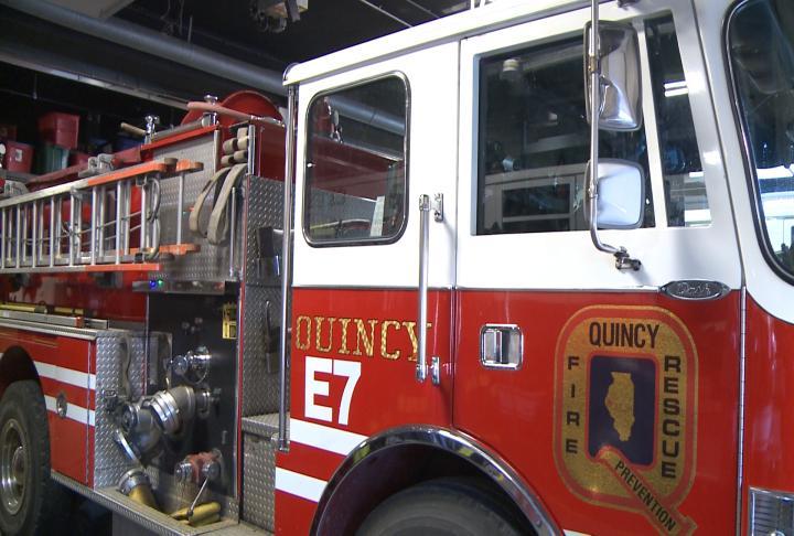 Quincy firetruck