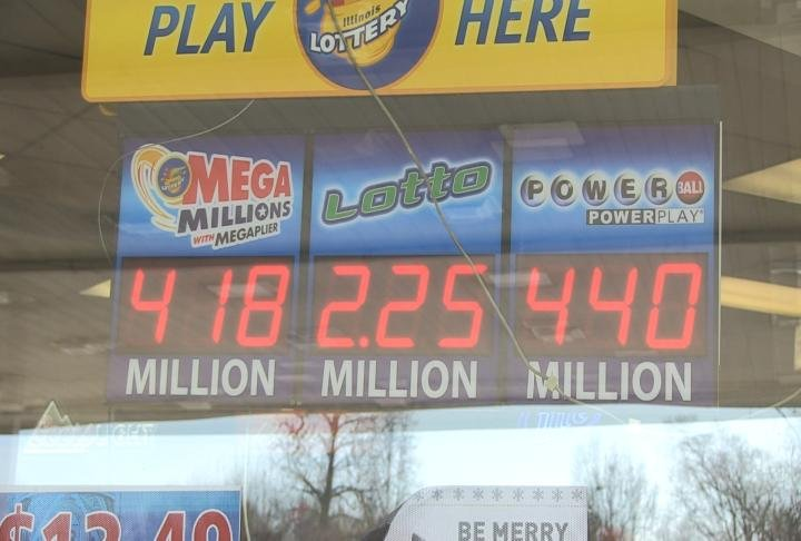 Many residents are hoping to buy a winning ticket.